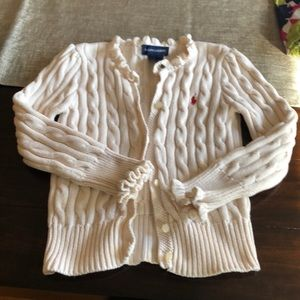 4t Ralph Lauren cream sweater